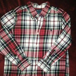 """Ralph Lauren """"Polo"""" Plaid button down shirt"""
